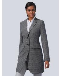 grauer Mantel von Alba Moda