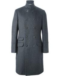 grauer Mantel von Brunello Cucinelli