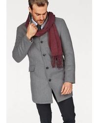 grauer Mantel von BRUNO BANANI