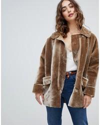 Modische grauen Mantel für Damen von Asos bei Asos für