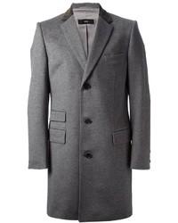 grauer Mantel von Hugo Boss