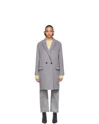 grauer Mantel von Isabel Marant