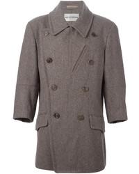 grauer Mantel von Issey Miyake