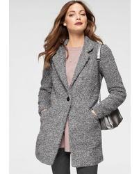 grauer Mantel von Jacqueline De Yong