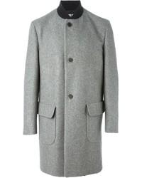 grauer Mantel von MSGM
