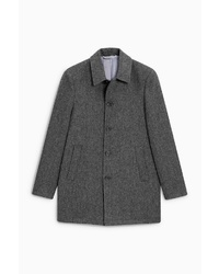 grauer Mantel von next