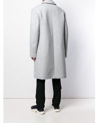grauer Mantel von Raf Simons