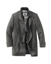 grauer Mantel von S4 JACKETS