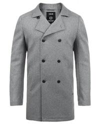grauer Mantel von Solid