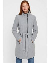 grauer Mantel von Vero Moda