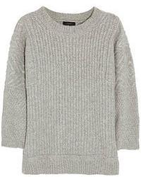 grauer Oversize Pullover von J.Crew