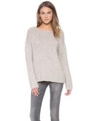 grauer Oversize Pullover von Nili Lotan