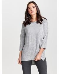 grauer Oversize Pullover von Only