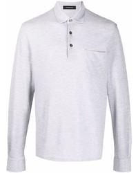 grauer Polo Pullover von Ermenegildo Zegna