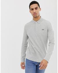 grauer Polo Pullover von Lacoste