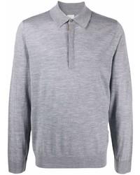 grauer Polo Pullover von Paul Smith