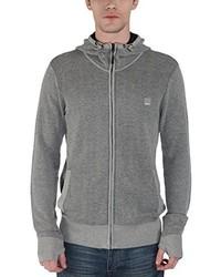 grauer Pullover mit einem Kapuze von Bench