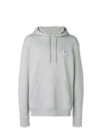 grauer Pullover mit einem Kapuze von Diesel