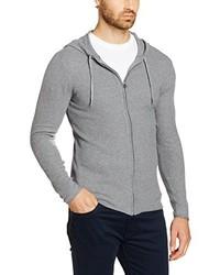 grauer Pullover mit einem Kapuze von Esprit