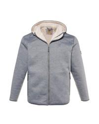 grauer Pullover mit einem Kapuze von JP1880