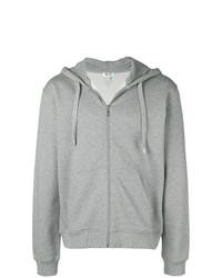 grauer Pullover mit einem Kapuze von Kenzo
