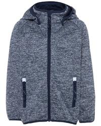 grauer Pullover mit einem Kapuze von Name It