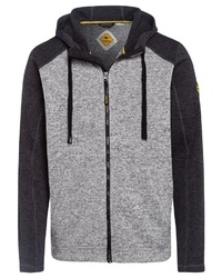 grauer Pullover mit einem Kapuze von ROADSIGN australia
