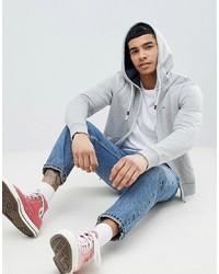 grauer Pullover mit einem Kapuze von Tommy Jeans