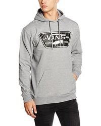 grauer Pullover mit einem Kapuze von Vans