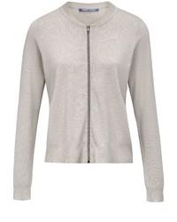 grauer Pullover mit einem Reißverschluß von DAY.LIKE