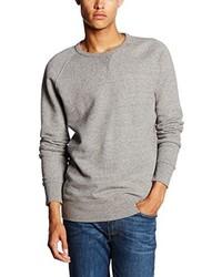 grauer Pullover mit einem Rundhalsausschnitt von Levi's