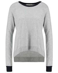 grauer Pullover mit einem Rundhalsausschnitt von Michael Kors