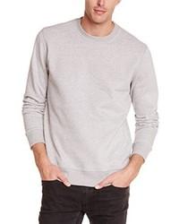 grauer Pullover mit einem Rundhalsausschnitt von Oakley