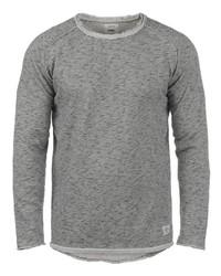 grauer Pullover mit einem Rundhalsausschnitt von Redefined Rebel