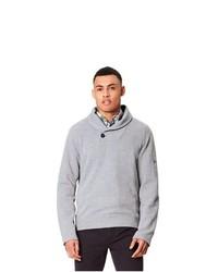 grauer Pullover mit einem Schalkragen von Regatta