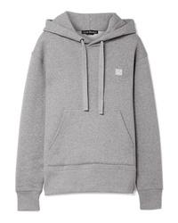 grauer Pullover mit einer Kapuze von Acne Studios