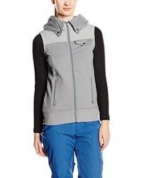 grauer Pullover mit einer Kapuze von Burton