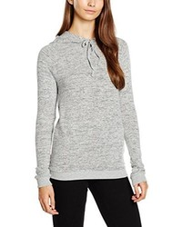 grauer Pullover mit einer Kapuze von Dorothy Perkins