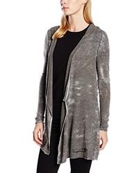 grauer Pullover mit einer Kapuze von FROGBOX