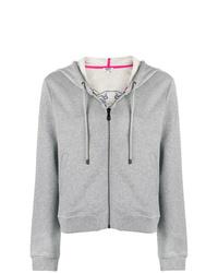 grauer Pullover mit einer Kapuze von Kenzo