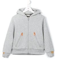 grauer Pullover mit einer Kapuze von Stella McCartney