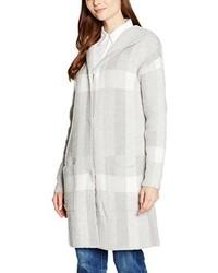 grauer Pullover mit einer Kapuze von Tom Tailor