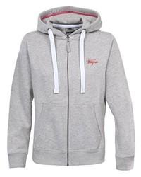 grauer Pullover mit einer Kapuze von Trespass