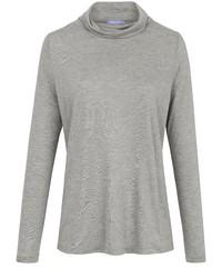 grauer Pullover mit einer weiten Rollkragen von DAY.LIKE