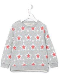 grauer Pullover mit Sternenmuster von Stella McCartney
