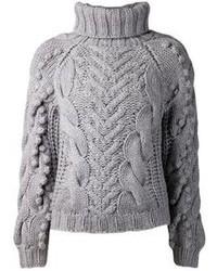 best service 3b118 f9869 Grauen Pullover für Damen kombinieren (1260 Kombinationen ...