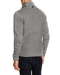 grauer Pullover von BLEND