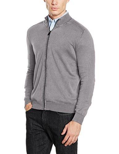 grauer Pullover von CALAMAR MENSWEAR