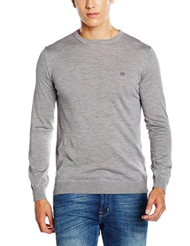 grauer Pullover von Cortefiel