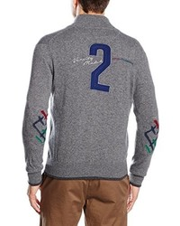grauer Pullover von La Martina